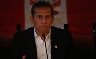 Ollanta Humala declaró en fiscalía por caso del ex juez Yalico