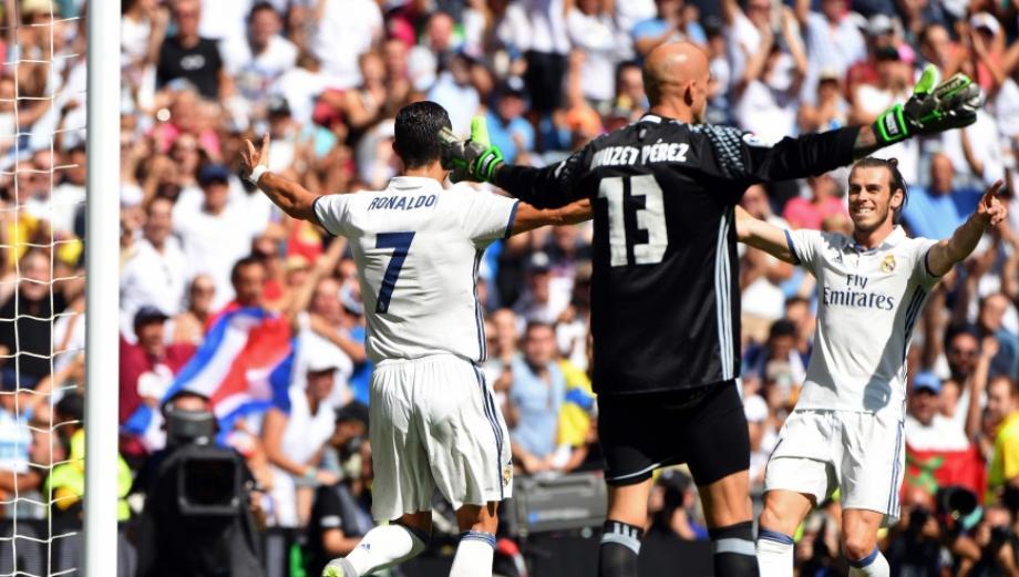 Cristiano Ronaldo: así celebró su primer gol en la Liga