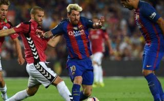 Barcelona perdió 2-1 en el Camp Nou con recién ascendido Alavés