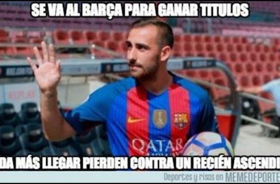 Los memes de la derrota del Barza frente al Alavés [GALERÍA]