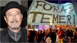 Rubén Blades habla de Brasil y el desgaste de la politiquería