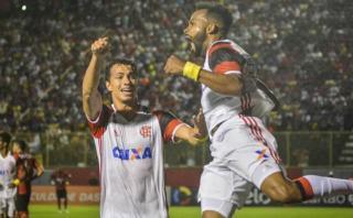 Sin Paolo Guerrero: Flamengo derrotó 2-1 a Vitória de visita