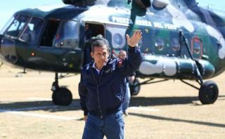 Humala: Continúan indagaciones sobre compras militares pasadas