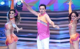 El gran show: Santi Lesmes y Tati Alcántara son pareja [VIDEO]