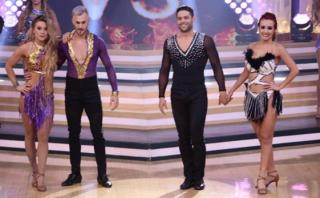 El gran show: Rosángela se quebró al ser derrotada por Leslie