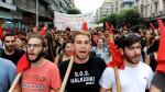 Masiva protesta en Grecia contra nuevas medidas de austeridad - Noticias de austeridad en grecia