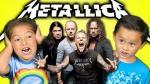 ¿Cómo reaccionan estos niños al escuchar Metallica? [VIDEO] - Noticias de trash metal