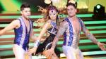 El gran show: Angie Arizaga se movió al ritmo de samba [VIDEO] - Noticias de melissa garcia