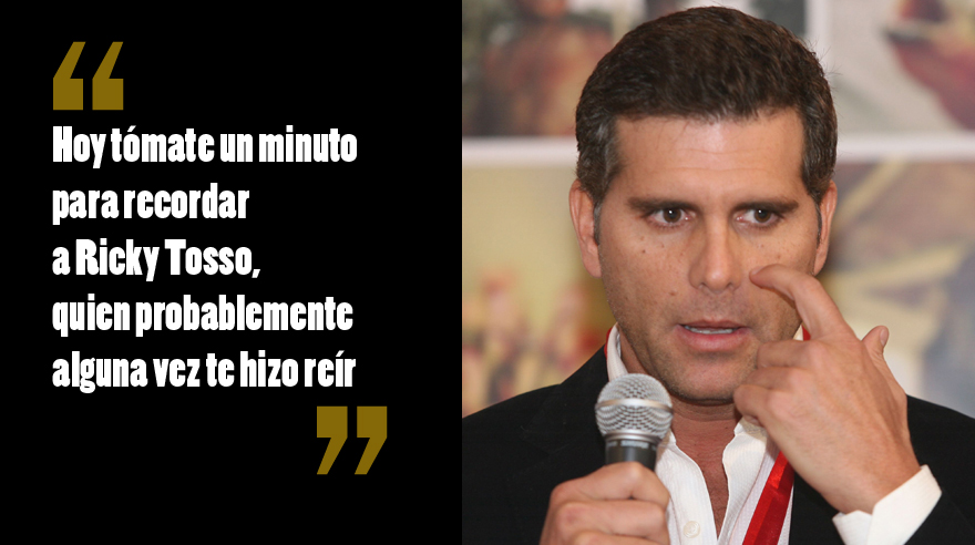 El mensaje de Christian Meier para Ricky Tosso. (Foto: El Comercio/ Archivo)