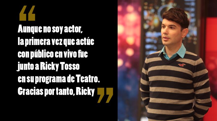 El mensaje de Bruno Pinasco para Ricky Tosso. (Foto: El Comercio/ Archivo)