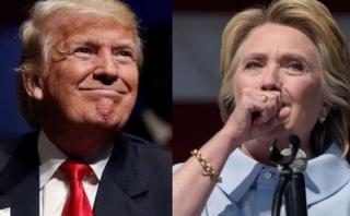 """Trump: """"Espero que Clinton se recupere y vuelva a la campaña"""""""