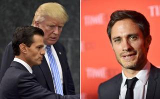 """Gael García: visita de Donald Trump a México fue """"una traición"""""""