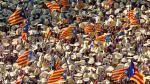 Cientos de miles de catalanes piden su independencia de España - Noticias de vias del tren