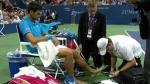 US Open: Djokovic detuvo juego por lesión y Wawrinka se enfadó - Noticias de stan lee