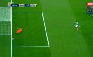 Barcelona vs. Celtic: Dembelé falló este penal ante Ter Stegen