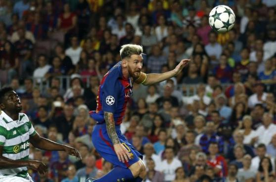 Lionel Messi fue figura en el Camp Nou por Champions League