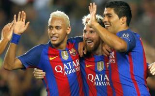 Barcelona aplastó 7-0 al Celtic con hat-trick de Lionel Messi