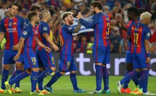 Barcelona arrancó la Champions con estos siete golazos [VIDEOS]