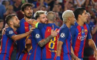 Barcelona logró su mayor goleada histórica en Champions League