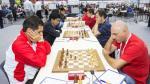 Ajedrez: Perú entre 10 mejores del mundo en Olimpiada de Bakú - Noticias de jorge vera