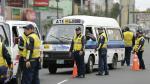 Municipalidad de Lima intervino combis 'piratas' en Av. Angamos - Noticias de papeletas de transito