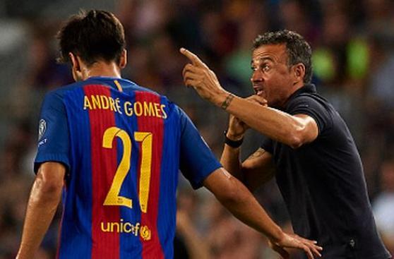 Barcelona: André Gomes, el gran acierto en el mediocampo culé