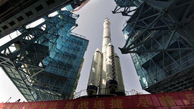 China lanzará mañana su segundo laboratorio espacial