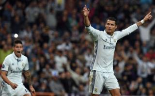 Cristiano Ronaldo anotó el 1-1 de espléndido tiro libre [VIDEO]
