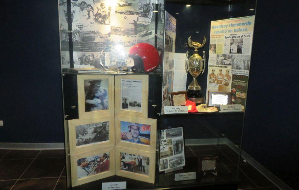 El Ladrillo, auto histórico de Arnaldo Alvarado. (Fotos: Difusión)