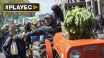 Argentina: Productores protagonizan protesta regalando verduras - Noticias de campos de concentracion