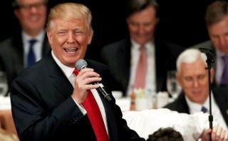 Donald Trump dice sentirse como si tuviera la mitad de su edad