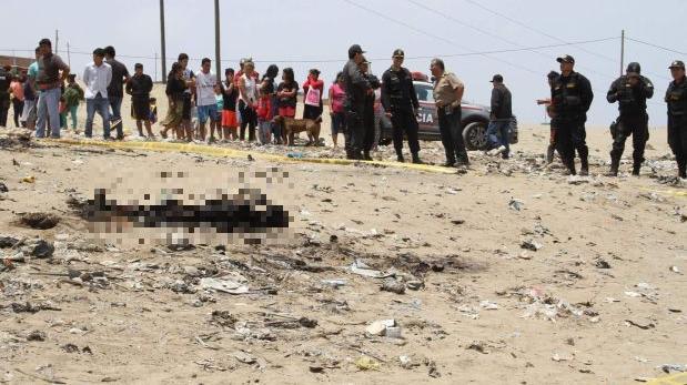 Trujillo: asesinan a mujer y luego queman su cuerpo