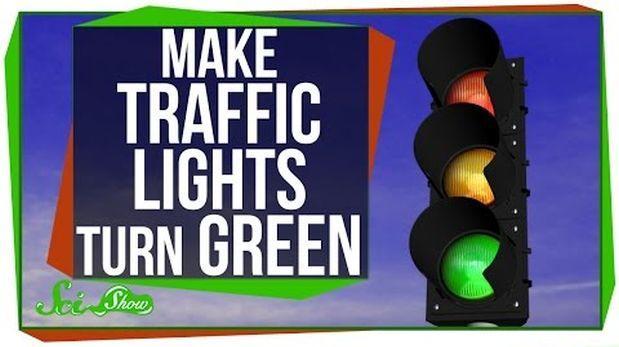 Cómo provocar que algunos semáforos cambien a verde [VIDEO]
