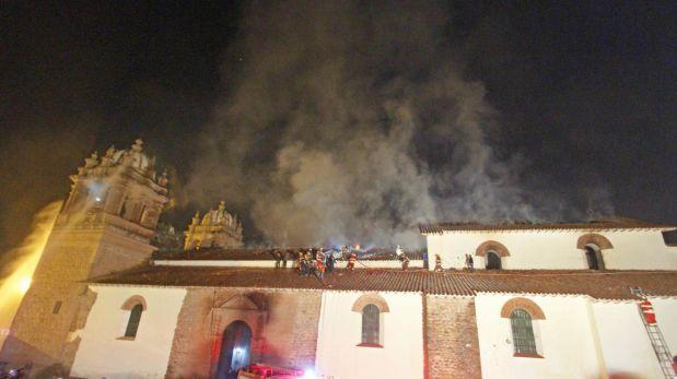 Incendio en Cusco: bomberos recién tuvieron agua 2 hrs. después