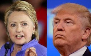 """Clinton: Trump impulsa una """"conspiración racista"""" contra Obama"""