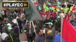 Uruguay: miles protestaron por mejoras salariales y educación - Noticias de tabare vazquez