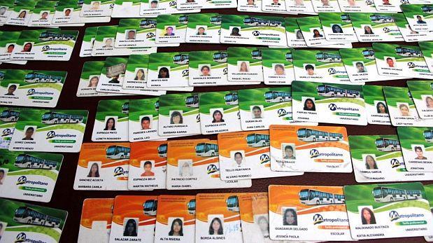 Metropolitano: decomisan 300 tarjetas por suplantar identidad