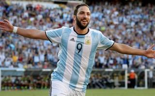 Selección argentina: Gonzalo Higuaín regresa a la albiceleste