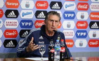 "Bauza: ""Perú nos va a atacar, Paraguay jugará de contragolpe"""