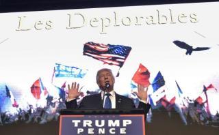 """Trump se reúne con sus """"deplorables"""" seguidores en Miami"""