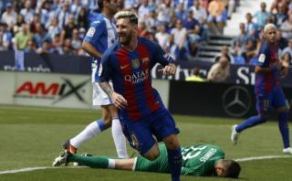Barcelona: Lionel Messi abrió la cuenta con este gol [VIDEO]