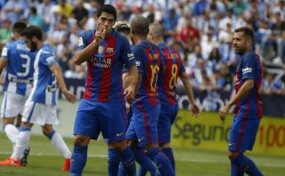 Barcelona: Luis Suárez marcó el 2-0 tras genial jugada de Messi