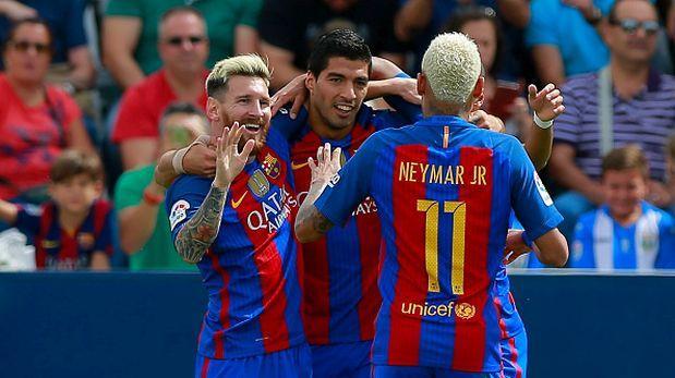 Barcelona goleó 5-1 a Leganés con anotaciones de la 'MSN'