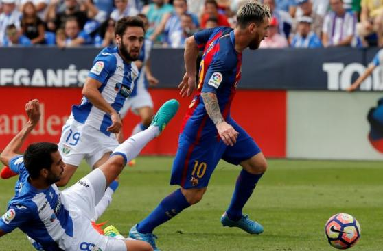 Barcelona y el festín de goles de Messi, Suárez y Neymar