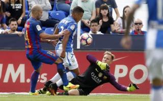 Barcelona: insólita respuesta de Ter Stegen al gol del Leganés