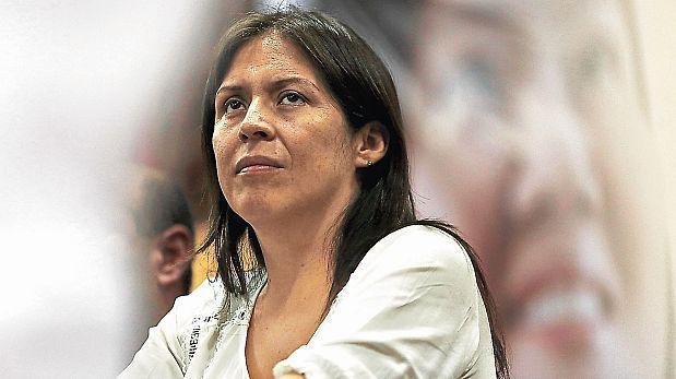 Fuerza Popular aún espera renuncia formal de Yeni Vilcatoma