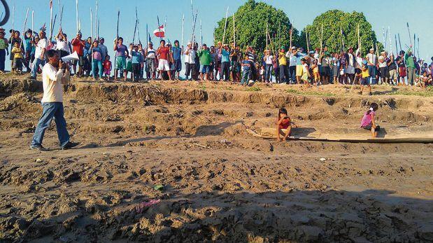 Protestas y bloqueo de ríos por paro en Loreto