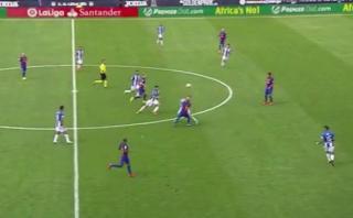 Lionel Messi y el mágico 'sombrerito' para deshacerse de rival