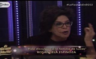 """Michelle Alexander: """"Rosángela Espinoza habla tonterías"""""""