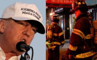 ¿Trump reveló explosión en Nueva York antes que autoridades?